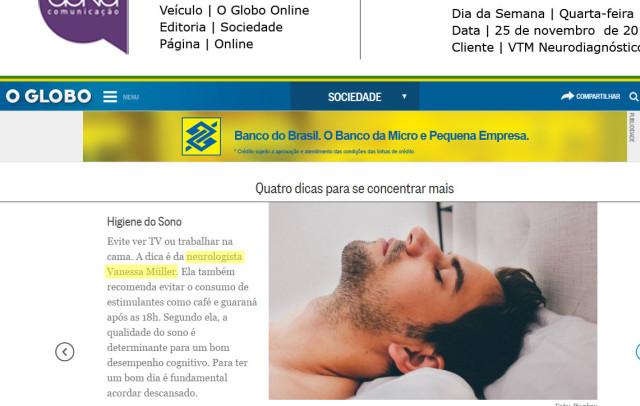 Dra. Vanessa Muller_O Globo Online_Sociedade_25.11.2015