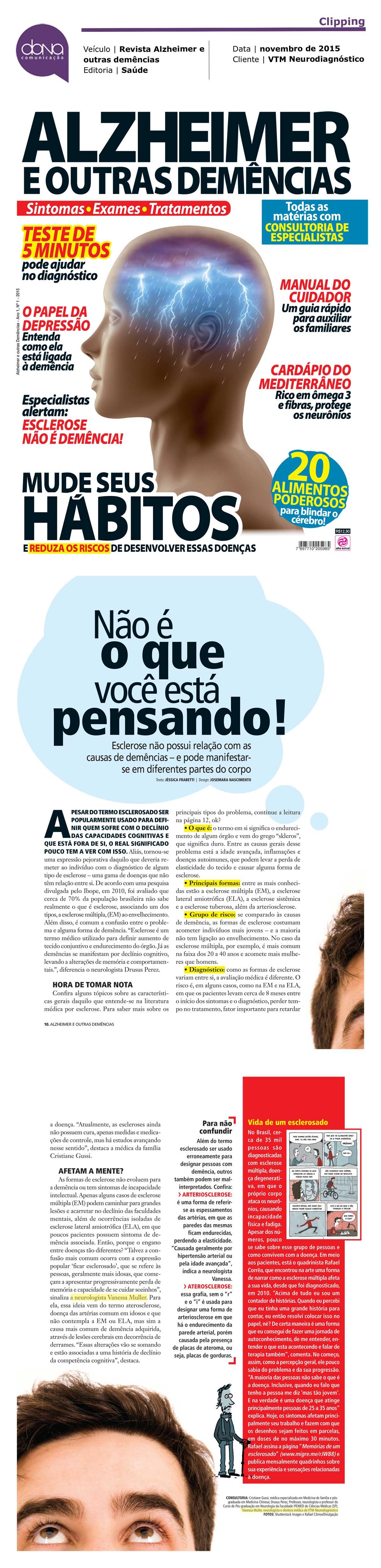 Dra. Vanessa Muller_Revista Alzheimer e outras demências_Saúde_11.2015-2