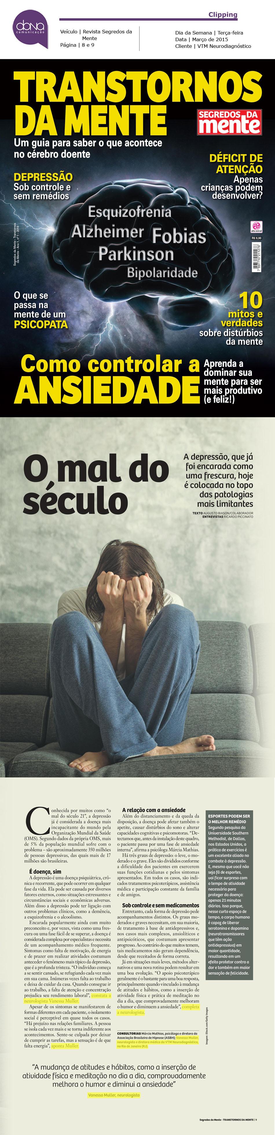 Dra. Vanessa Muller_Revista Segredos da Mente - Transtornos da Mente_03.2016-1