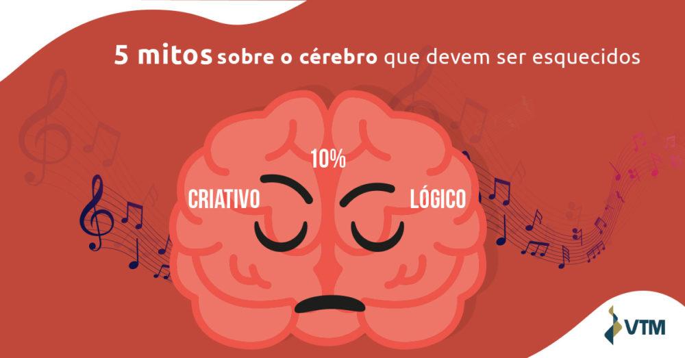 mitos sobre o cérebro