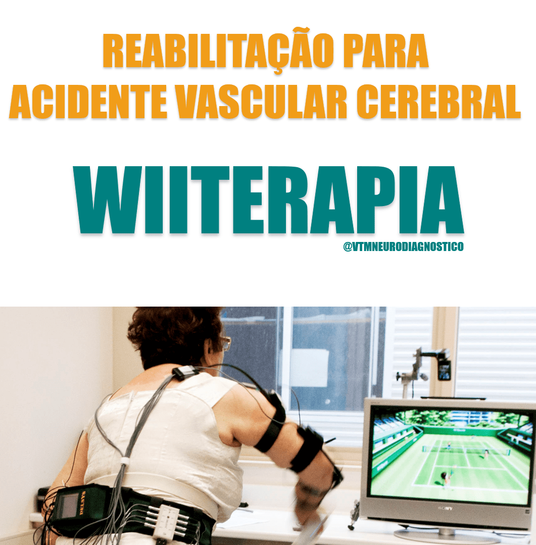 Saiba como a reabilitação para Acidente Vascular Cerebral (AVC) está usando a WIITERAPIA