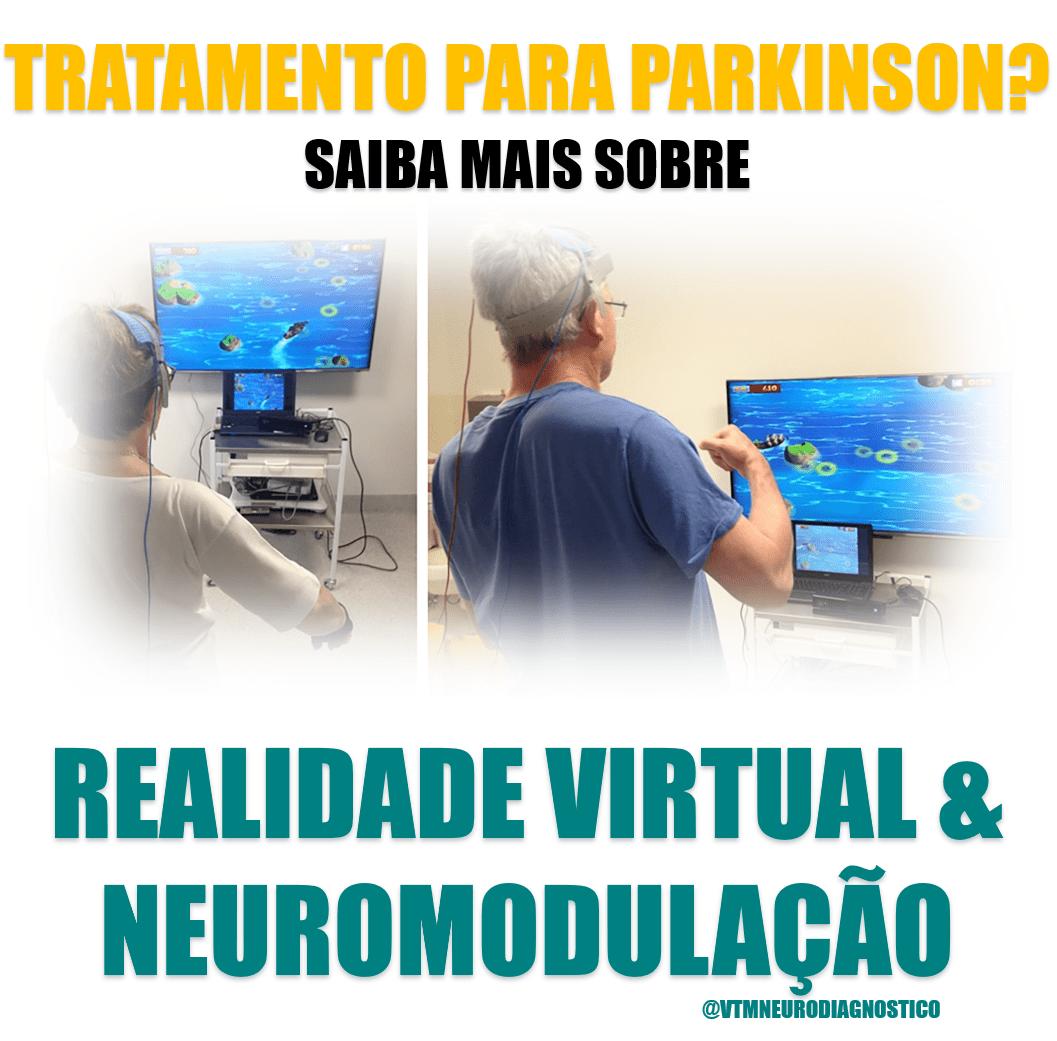 Doença de Parkinson: Fisioterapia com Realidade Virtual